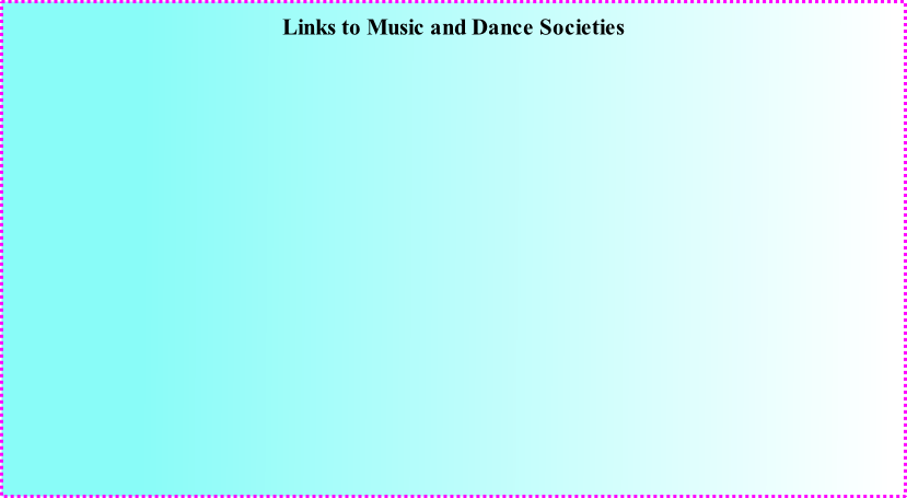 Links to Music and Dance Societies